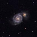 M51 - 20200621 - Meade2045D at F4,                                altazastro