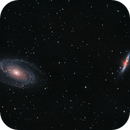 M81, M82 with the RASA 11,                                Andrew Marjama