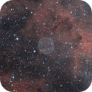Close-up on Soap Bubble Nebula (PNG75.5+1.7),                                Jean-Baptiste Auroux