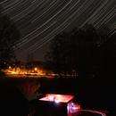 Startrails + Starlink,                                Dirk Kligge