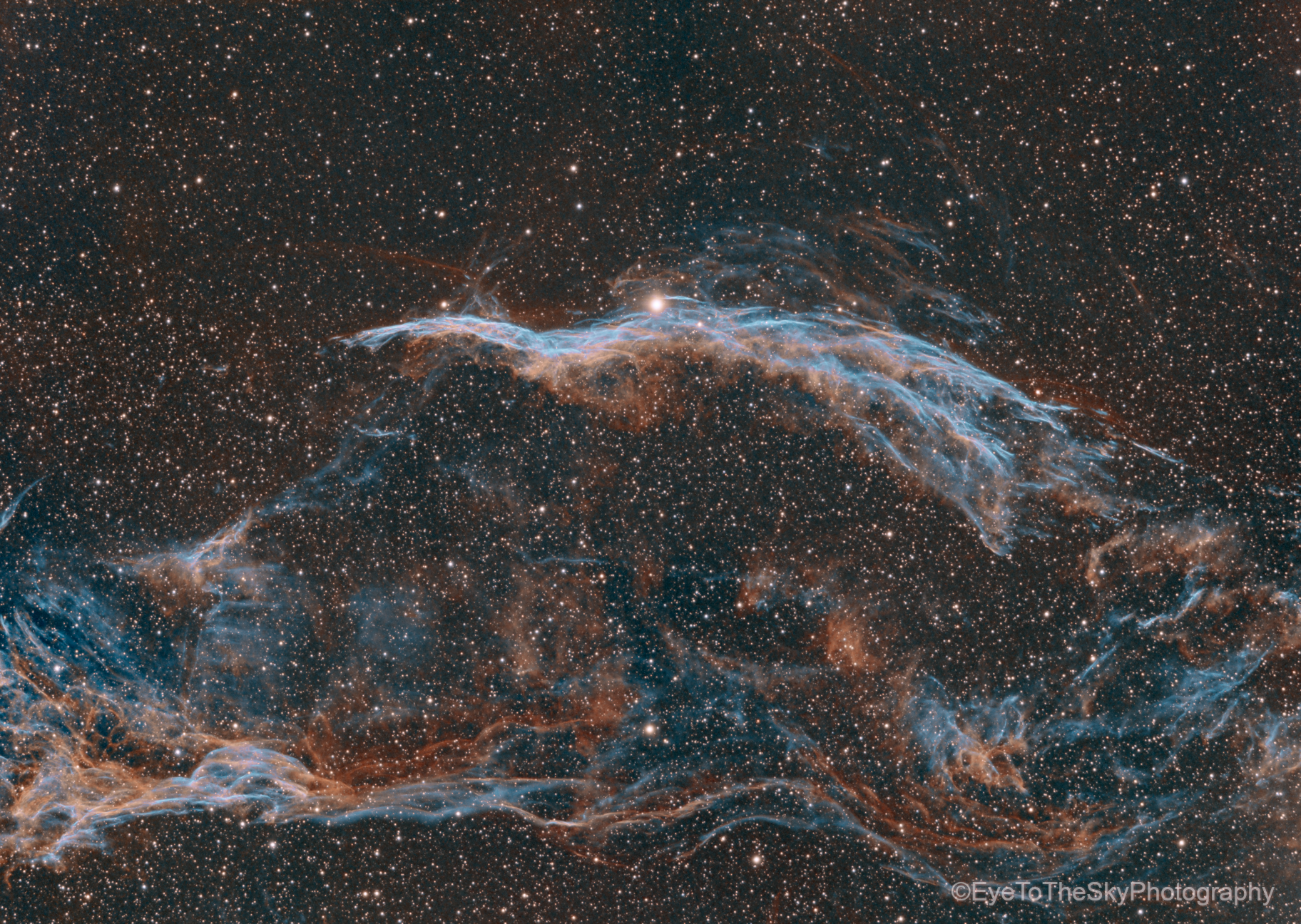 NGC 6960 Western Veil Nebula,                                T Young