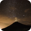 Star field behind Arenal Volcano in Costa Rica,                                Andrew N.