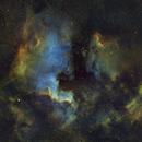 North American and Pelican Nebula's,                                AstroGeek