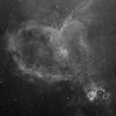 Heart Nebula mosaic,                                Dave B