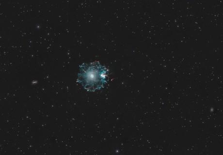 Cat's Eye Nebula (NGC 6543),                                pete_xl