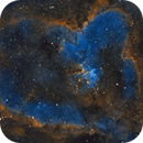 The Heart Nebula in SHO palette,                                Sasho Panov