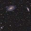 NGC3077, M81 and M82 with Supernova SN 2014J,                                dr_klahn
