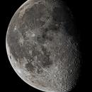 Waning Gibbous Moon - LRGB,                                Damien Cannane
