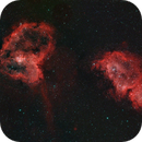 IC 1805 and IC 1848 Heat and Soul Nebulas,                                r.smith65585