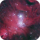 Cone and Fox Fur Nebula - HRGB Image,                                wei-hann-Lee