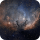 Sh2-101 Tulip Nebula in SHO - ASI1600MM - EdgeHD 9.25 - CEM60,                                Rowland Archer