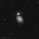 Messier 51 The Whirlpool Galaxy,                                Fenton