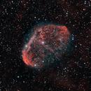 ngc6888(Crescent nebula) closeup Ha_HOO_RGB,                                *philippe Gilberton