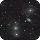 NGC 474,  470 and 467, The Pisces Trio,                                1074j