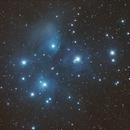 M45 - The Pleiades,                                Phil Hosey