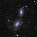 NGC 3166 and NGC 3169,                                1074j