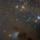 VdB 27 Plus some LDNs, LBNs and a Nice Reflection nebula,                                Eric Coles (coles44)