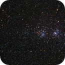 The Double Cluster in Perseus, Amazing Star Color Diversity,                                Roger Clark
