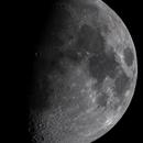 Moon Waxing Gibbous,                                Bert Scheuneman