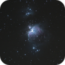 M42 (Orion), M43 (De Mairan's Nebula) and NGC - 1977 (The Running Man Nebula),                                blahster