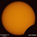 Sun Eclipse - 2013 (with sun spots),                                Spitzer