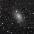 M33, galaxie du Triangle, le 17 août 2020,                                Noël Donnard