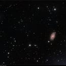 M109 & Vicinity, LRGB, 29 Apr + 2 May 2017,                                David Dearden