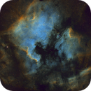 North America and Pelican Nebula (NGC 7000),                                Fred Boucher