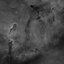 Elephant's Trunk nebula,                                Antanas Paulauskas