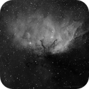 SH2-101 The Tulip Nebula, H-alpha,                                Eric Coles (coles44)