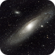 """M31 """"Andromeda Nebula"""" with 432mm and EOS600D,                                Norbert Reuschl"""