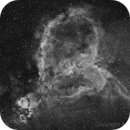 IC1805 H-alpha: Heart Nebula,                                Andrea Storani