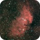 sh2 101 Colored - learning how to combine h alpha and rgb images,                                Stefano Ciapetti