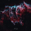 Bat Nebula HOO,                                Frank Turina