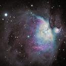 M42 Orionnebel,                                Rocan