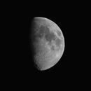 Half Moon -Canon 250 mm-single shot-crop,                                Adel Kildeev