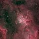 Melotte 15 Narrowband in Simulated RGB,                                Antonio.Spinoza