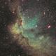 Wizard Nebula NGC 7380 in SHO,                                John Mart