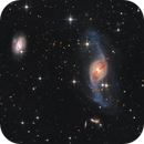 NGC 3718 and 9 Quasars,                                sky-watcher (johny)