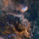 Tulip Nebula - Sh2-101 - Hubble Palette,                                Chuck's Astrophot...