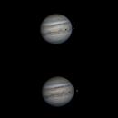 Jupiter and Io transit,                                Dominique Callant
