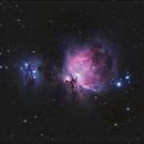 M42 Great Orion Nebula ,                                Marcin Piwowarczyk