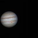 Jupiter, Io, Ganymede  animation Feb 12th 2015,                                ReneW