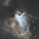 Omega nebula M17,                                Turki Alamri