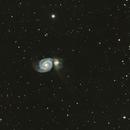M51, The Whirlpool Galaxy,                                riot1013