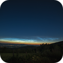 C/2020 F3 Neowise + noctilucent clouds wide field,                                Ivan Bosnar