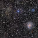NGC 6946 and NGC 6939  in IFN,                                Haakon Rasmussen