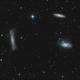 Leo Triplet – 2020 (NGC 3628, M65, M66),                                Peter Folkesson