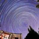 Startrails around my observatory,                                equinoxx