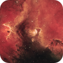 Burning Heart of the Soul Nebula (HSS color palette of IC 1848) [crop],                                pete_xl